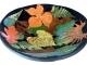 multicolor dish