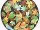 colored leaves ceramics