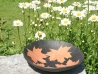 leaf bowl, ceramic bowl, pottery, bowls