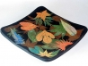 leaves tableware